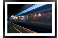 Drem Train Station, Framed Mounted Print