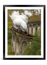 Glefinnan Viaduct Train, Framed Mounted Print