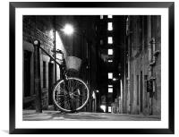 The Basket is Empty, Framed Mounted Print