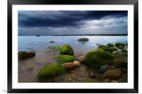 The Rain is There, Framed Mounted Print