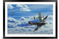 Battle in the Skies, Framed Mounted Print