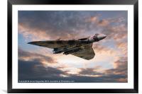 Vulcan Bomber, Framed Mounted Print