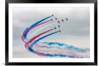 Red Arrows, Framed Mounted Print