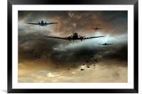 Normandy Invasion, Framed Mounted Print