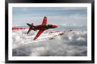 2014 Red Arrows, Framed Mounted Print