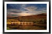 Lancs at ladybower , Framed Mounted Print