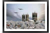 Winter War , Framed Mounted Print