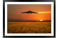 Vulcan Farewell Fly Past, Framed Mounted Print