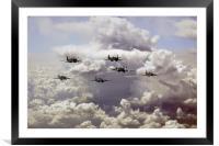 Spitfire Gang, Framed Mounted Print