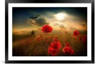 Royal Air Force Tribute, Framed Mounted Print