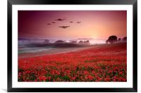 Battle of Britain Heroes, Framed Mounted Print