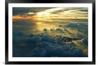 Vulcan Cloudscape, Framed Mounted Print