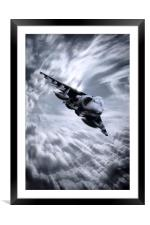 Harrier GR7, Framed Mounted Print
