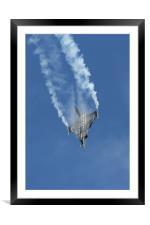 The Dassault Rafale, Framed Mounted Print
