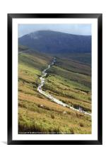 Snowdon Path, Framed Mounted Print
