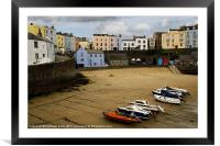 Tenby, South Wales, Framed Mounted Print
