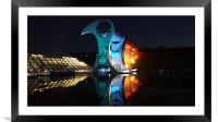 the Falkirk wheel, Framed Mounted Print