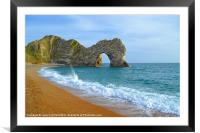 Durdle Door, Framed Mounted Print