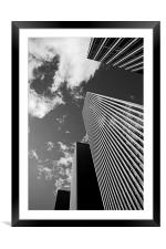 Reach for the sky, Framed Mounted Print