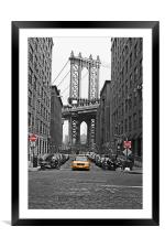 DUMBO: Eye of the needle, Framed Mounted Print