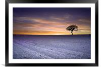 Fire & Ice, Framed Mounted Print