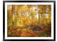 The Woodsmans Glade., Framed Mounted Print