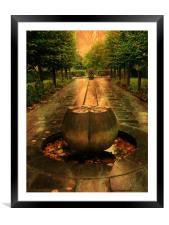 Park Sculpture., Framed Mounted Print