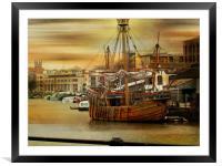 Shipshape and Bristol Fashion., Framed Mounted Print