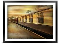 Ready to Travel, Framed Mounted Print