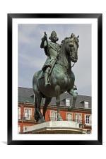 Plaza Mayor III, Framed Mounted Print