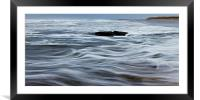 North Sea Waves, Framed Mounted Print