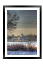 Ice palace, Framed Mounted Print