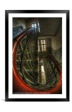 Going round the twist, Framed Mounted Print