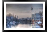 Four towers Berlin, Framed Mounted Print