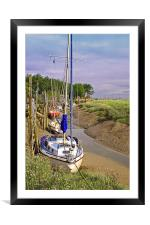Waiting for the Tide, Framed Mounted Print