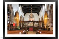 Skipton Parish Church, Framed Mounted Print