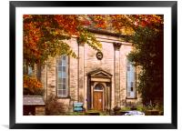 Hope Baptist Chapel, Framed Mounted Print