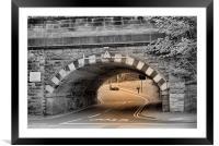 Bridge at Port Sunlight, Framed Mounted Print