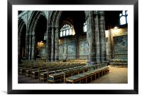 Cathedral Mosaics, Framed Mounted Print