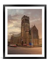 Holy Trinity Church, Framed Mounted Print