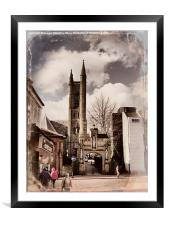 Church of St Mary, Chorley., Framed Mounted Print