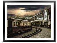 Ffestiniog Railway, Framed Mounted Print
