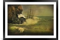 Ship Wrecked !!, Framed Mounted Print