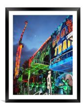 Ghost Train, Framed Mounted Print