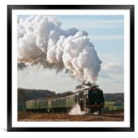 Mid-Hants Railway, Framed Mounted Print