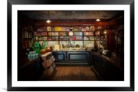 The General Store, Framed Mounted Print