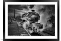'The Lancastrian', Framed Mounted Print