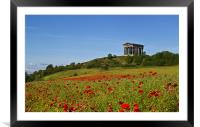 Penshaw Monument, Framed Mounted Print