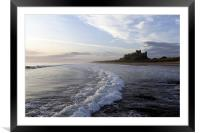 Bamburgh Castle, Framed Mounted Print