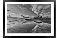Bamburgh Castle, Framed Mounted Print